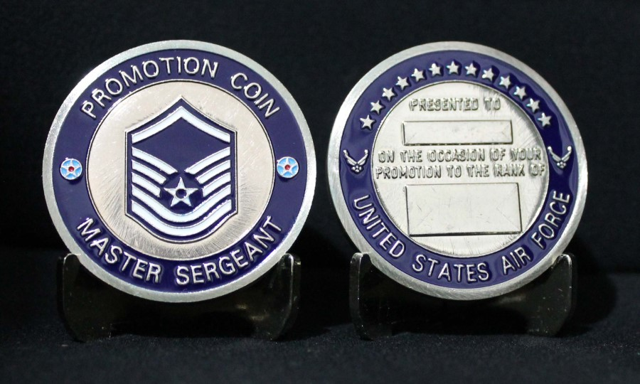 Master Sergeant - Promotion Coin