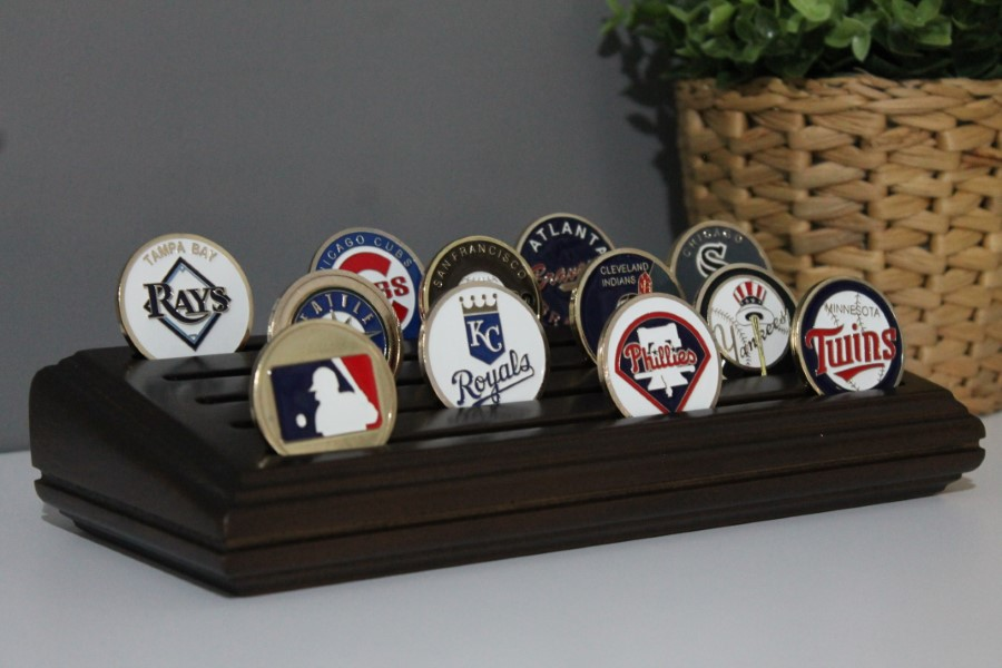 Small - 5 Row Coin Holder